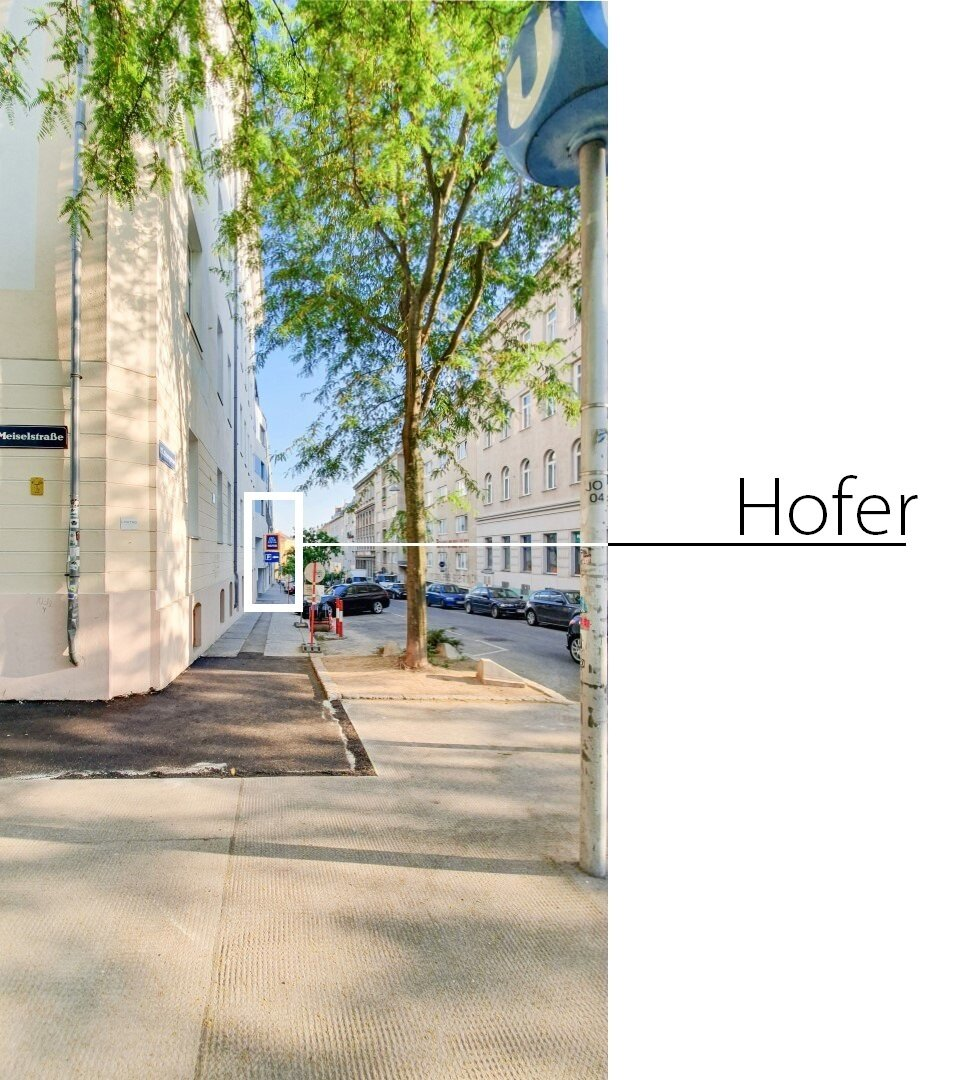 Hofer in der Sturzgasse