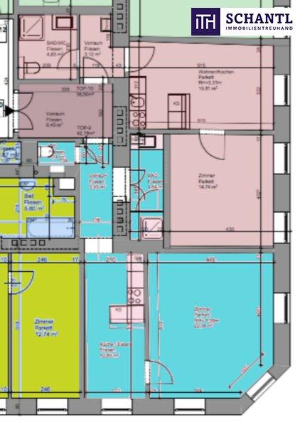 KURZZEITVERMIETUNG!!! Fünf voll möblierte Wohnungen im Paket + Sanierter Altbau + Absolute top Lage! /  / 1140Wien / Bild 8