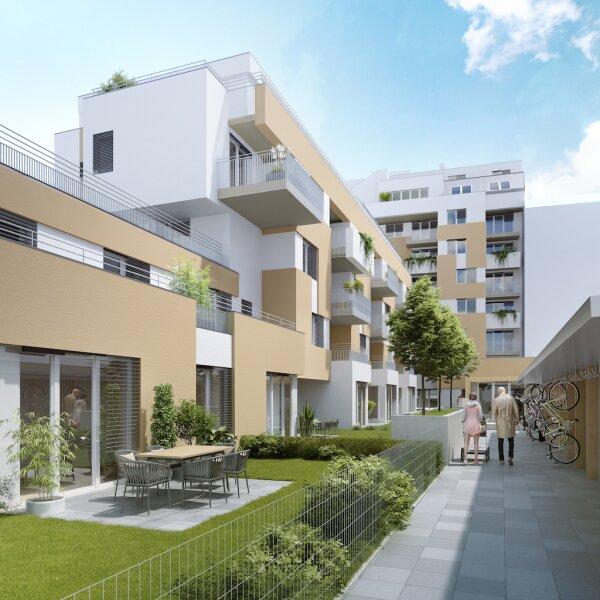 Wohnen am Wienfluss - 4 Zimmer-Gartenwohnung