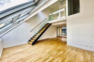 SKODAGASSE | trendige DG-Maisonette mit Loggia in der Josefstadt