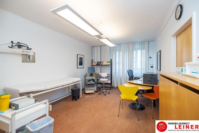 Schwechat - Arztpraxis/Büro mit kleiner Wohnung direkt im Zentrum an der Grenze zu Wien Objekt_14838