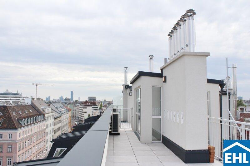 Klimatisierte, sanierte Dachgeschosswohnungen in wunderschönem Gründerzeithaus /  / 1090Wien / Bild 1