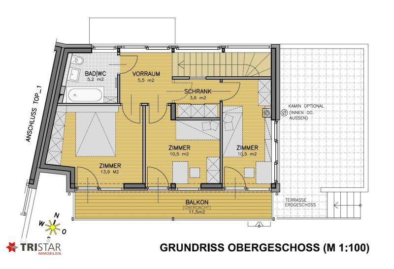 :::Modernes Niedrigenergie-Doppelhausprojekt in Bestlage Klosterneuburgs - Qualität und Stil im Baurecht::: /  / 3400Klosterneuburg / Bild 9
