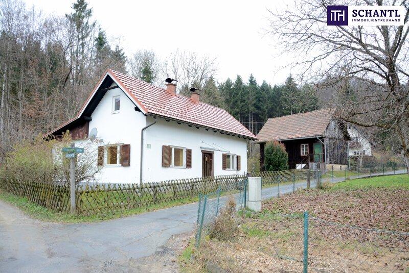 Schmankerl: Sanierungsbedürftiges Einfamilienhaus mit Nebengebäude und ca. 1700 m² Grundfläche im Stadtgebiet von Deutschlandsberg! /  / 8530Deutschlandsberg / Bild 1