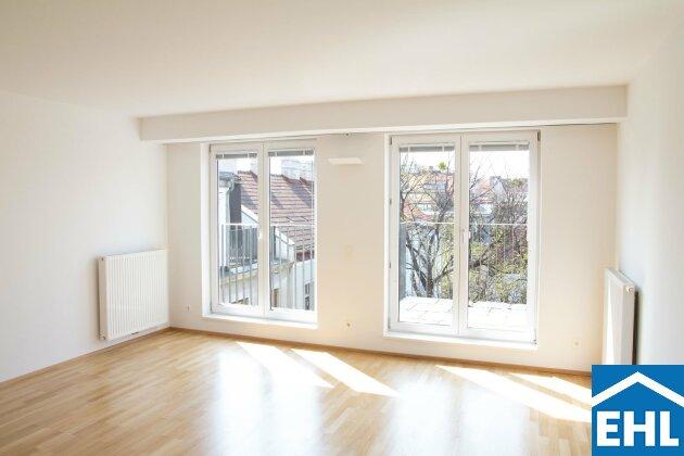 Familienfreundliche Terrassenwohnung mit Grünblick nahe FH/WIFI Wien