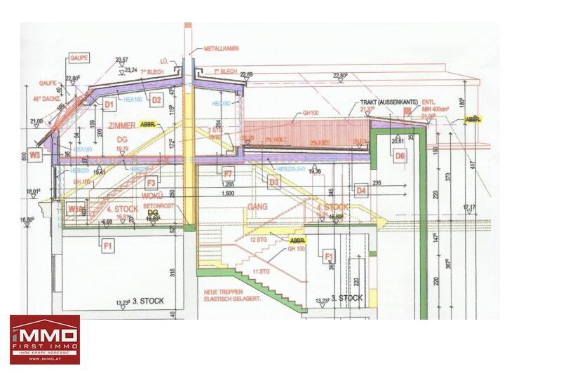 Luxuriöse Dachgeschoß-Maisonette mit Terrasse und Balkon! /  / 1050Wien / Bild 7