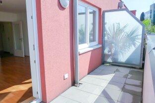 Perfekt aufgeteilte 2-Zimmer-Wohnung mit sonniger Terrasse