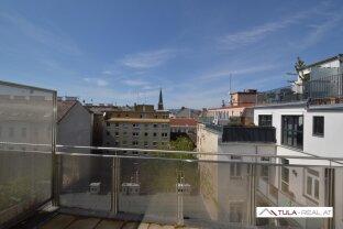 Sonnige 4-Zimmer-DG-Wohnung mit Terrasse | Nähe Augarten | provisionsfrei