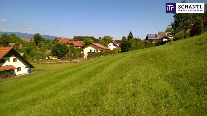 SONNENLAGE in Sankt Josef: Stimmungsvolles Grundstück mit Panoramablick auf die Koralm für Ihren persönlichen Traum vom Eigenheim!