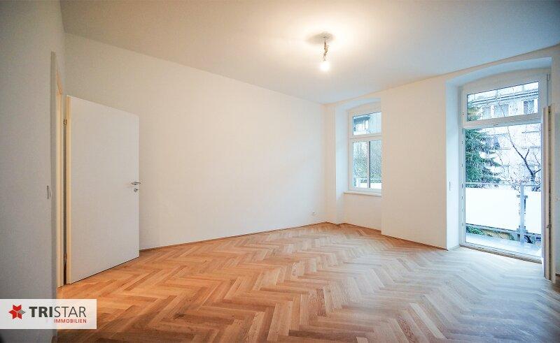 NEU! ++ KERNSANIERT ++ sehr ruhig gelegen, 3 Zimmer-Altbauwohnung mit BALKON, ab sofort zu verkaufen (Top 10-12) ++