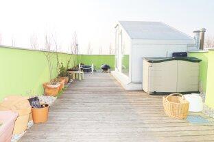 VERKAUFT !!!!   Maisonette mit Dachterrasse + WBF