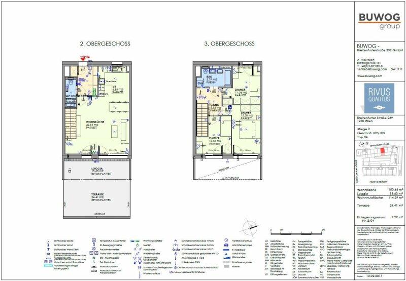 ERSTBEZUG & UNBEFRISTET: Familientraum mit Gemeinschafts-POOLl! Schöne 4-Zimmer-Maisonette mit Innenhof-Terrasse im 2./3. Stock - PROVISIONSFREI! /  / 1230Wien / Bild 2