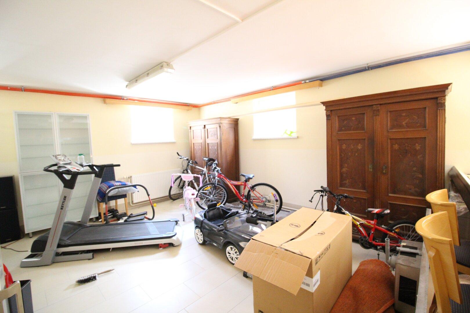Fitnessraum Souterrain
