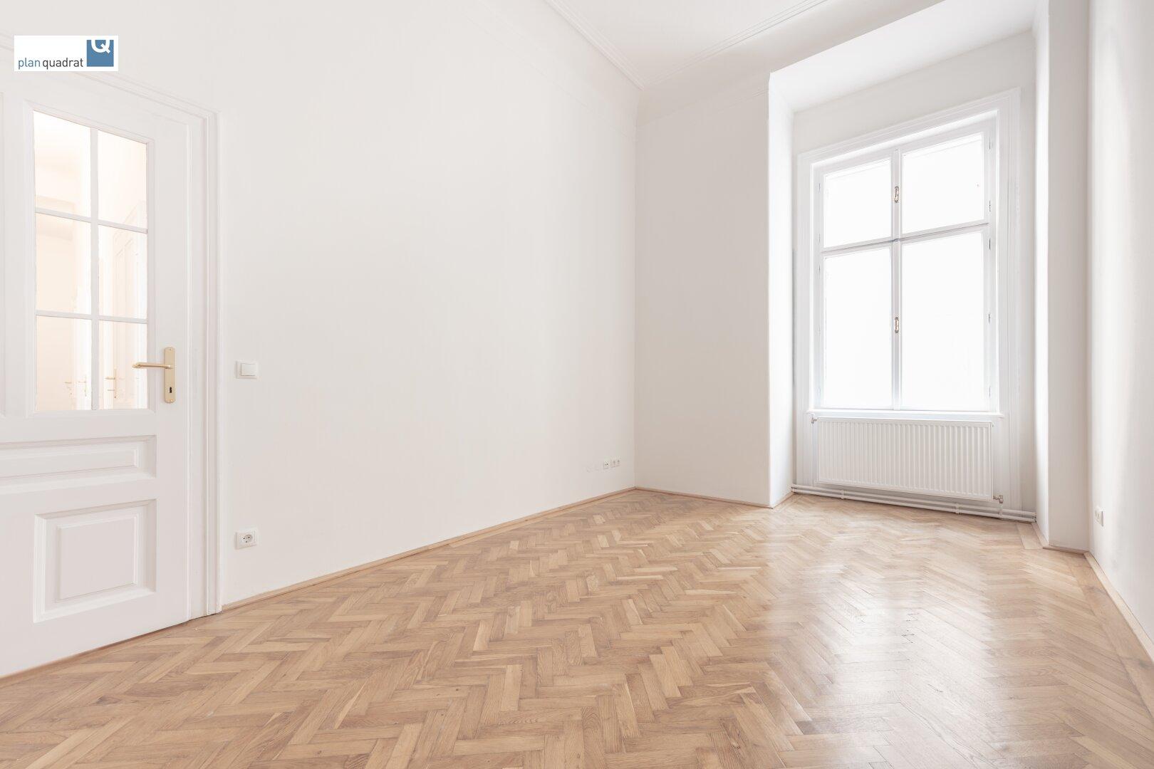 Raum 1 (gem. Grunsrissskizze - ca. 15,90 qm)