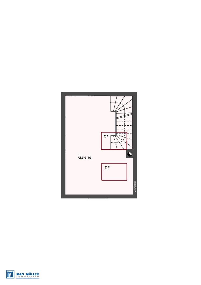 Galerie - Dachgeschoss