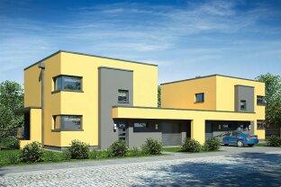 Modernes Doppelhaus in Pressbaum