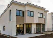 Designer Doppelhaus in Essling in idyllischer Grünruhelage - Mit 3D Besichtigung Demo