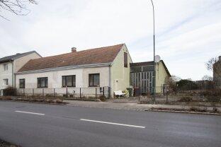 Grundstück mit Abrisshaus
