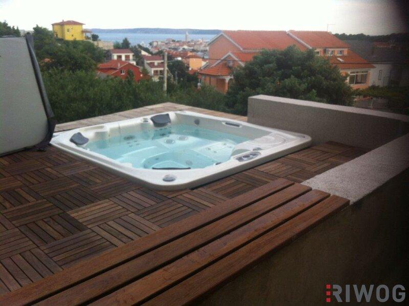 +++ Ferienhaus mit drei Wohnungen und schönem Meerblick  +++ /  / 53287Rab / Bild 5