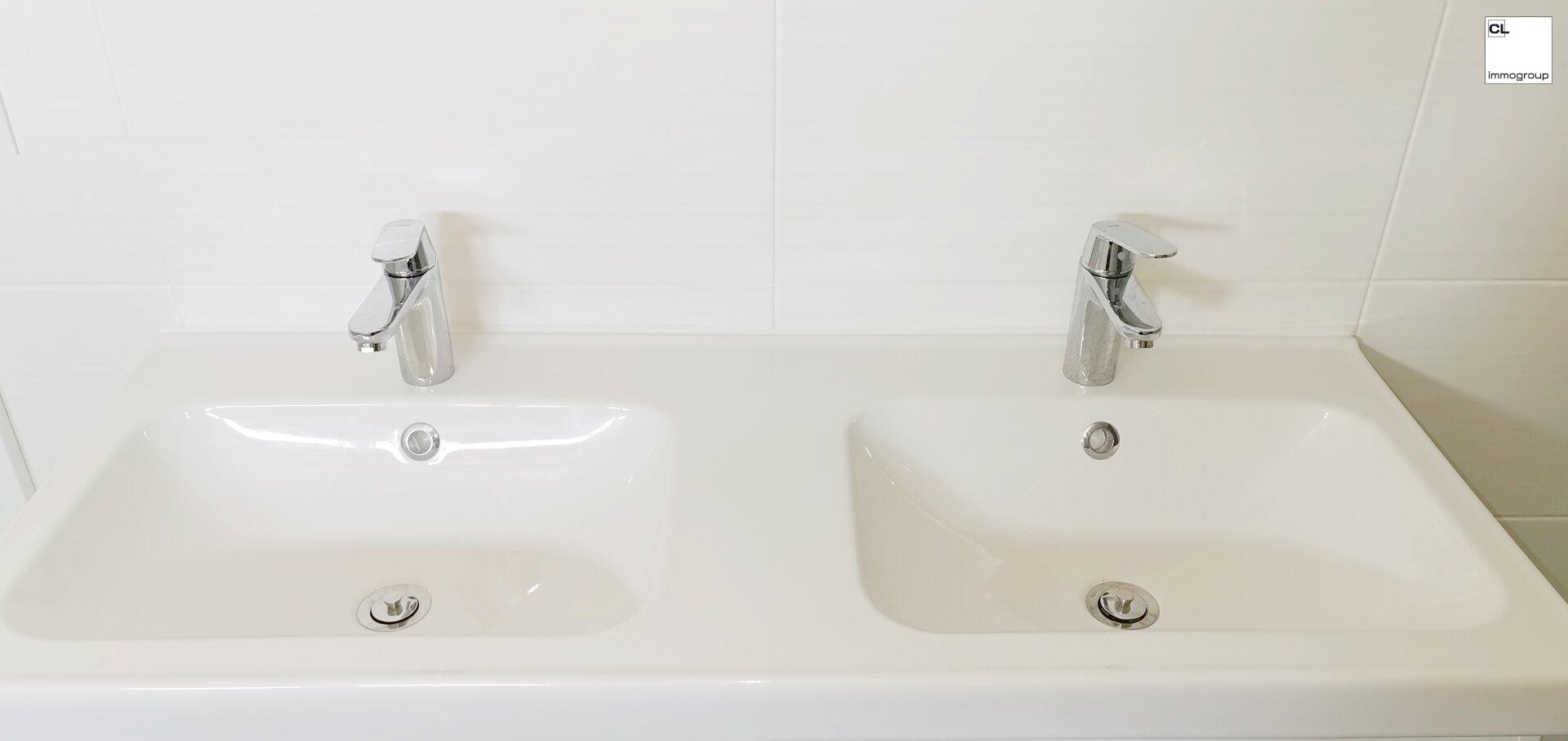 Doppelhandwaschbecken
