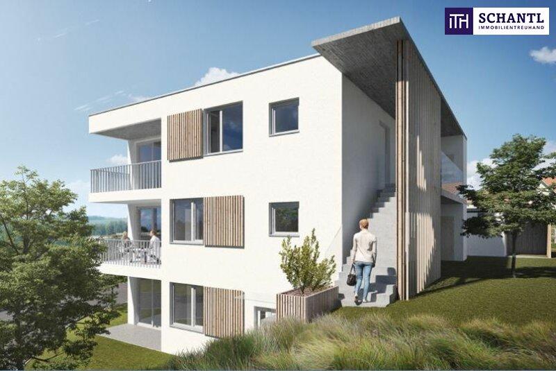 KLEIN und FEIN! 2-Zimmer-Erstbezug mit durchdachtem Grundriss + Loggia + TOP-Ausblick + Photovoltaik inklusive + gute Vermietbarkeit!