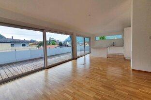 VERMIETET Kufstein: Exklusive Penthousewohnung mit großer Terrasse, Festungsblick, eigene Garage