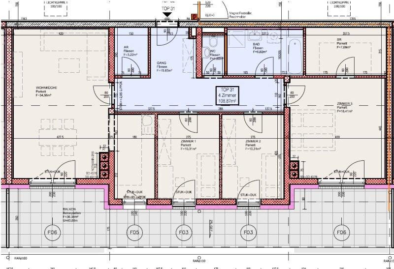Top 31 - Freifinanzierte 4 Zimmer Wohnung mit Dachterrasse - MIETEN oder MIETKAUF /  / 2700Wiener Neustadt / Bild 4