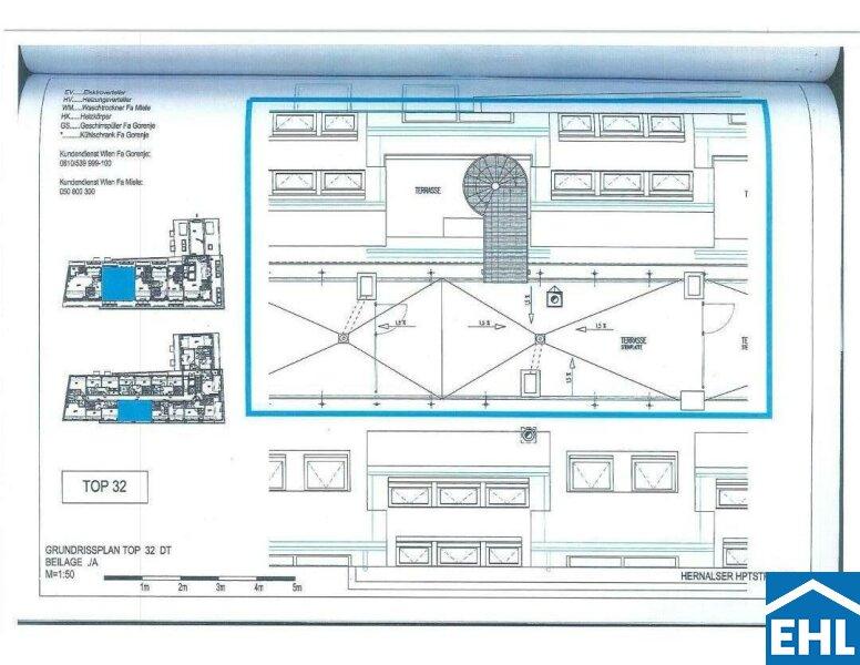 Schöne 3,5 Zimmer-Maisonettewohnung mit Dachterrasse in guter Lage /  / 1170Wien / Bild 8