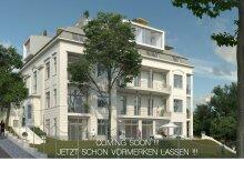 Herrschaftliches Wohnen in namhafter Altbau-Villa - 2 Zimmer-Gartenwohnung für Anspruchsvolle - PARKVILLA M17