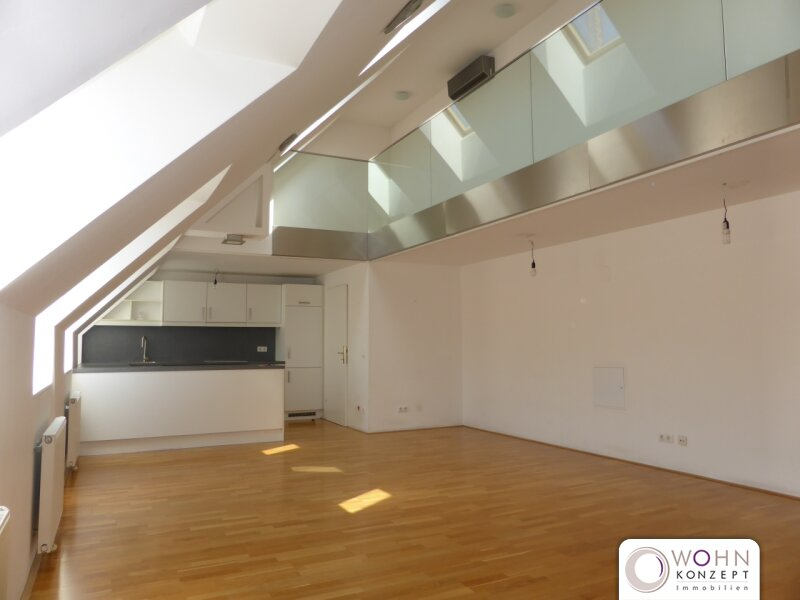 Klimatisierte 148m² DG-Wohnung + Terrasse beim Naschmarkt - 1060 Wien