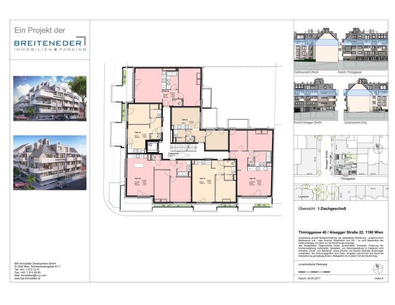 Thimiggasse 40 - Moderne Apartments in ruhiger Grünlage in Wien Gersthof /  / 1180Wien / Bild 7