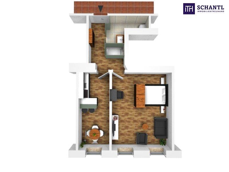 KURZZEITVERMIETUNG!!! Fünf voll möblierte Wohnungen im Paket + Sanierter Altbau + Absolute top Lage! /  / 1140Wien / Bild 14