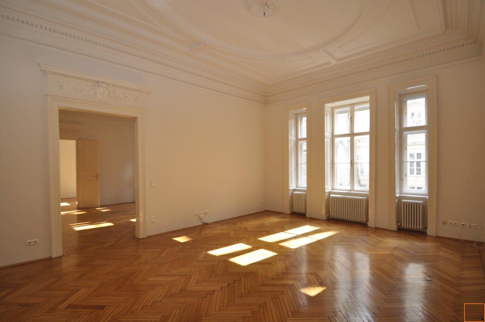 Wohnzimmer oder Esssalon