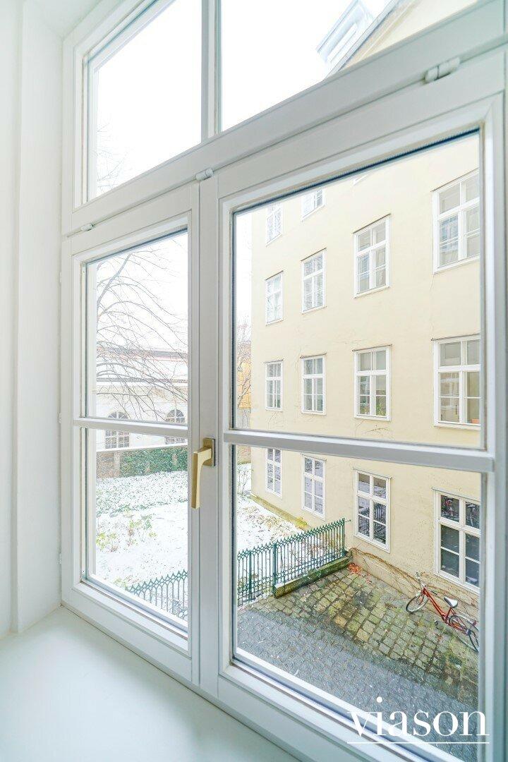 Blick Vorzimmer