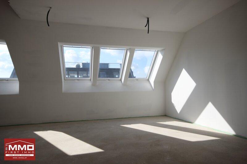 *^* Wunderschöne helle Dachgeschossmaisonette inklusive Weitblick und ruhiger Terrasse, nach eigenen Wünschen und Ideen fertigstellen *^* /  / 1140Wien / Bild 8