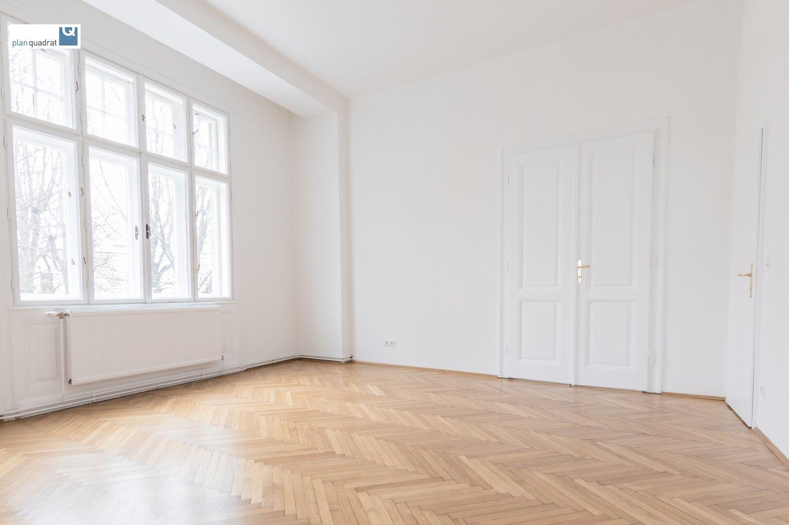 Zimmer 4 (gem. Plan; ca. 21,27 qm)