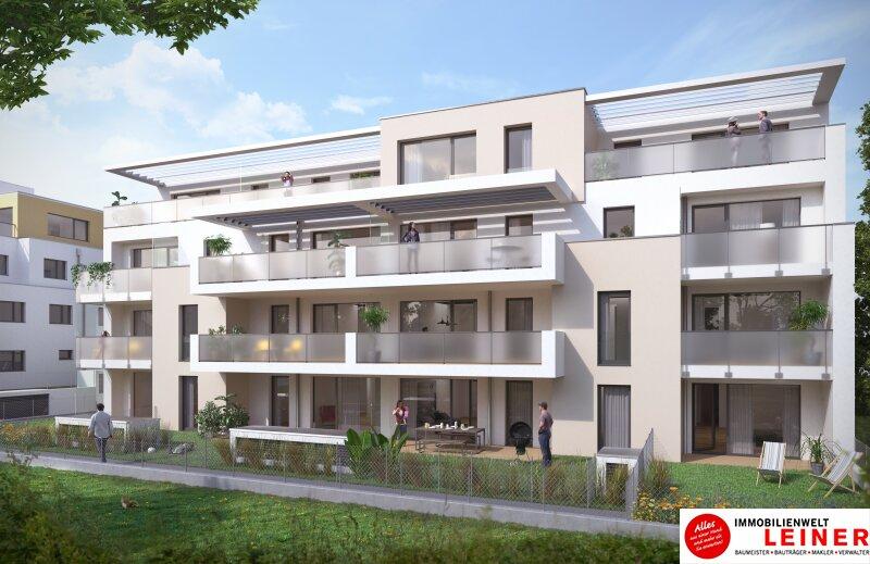 Provisionsfrei & Erstbezug! Traumhafte 4 Zimmer Gartenwohnung mit 150m² grüner Flächen Objekt_12104 Bild_817