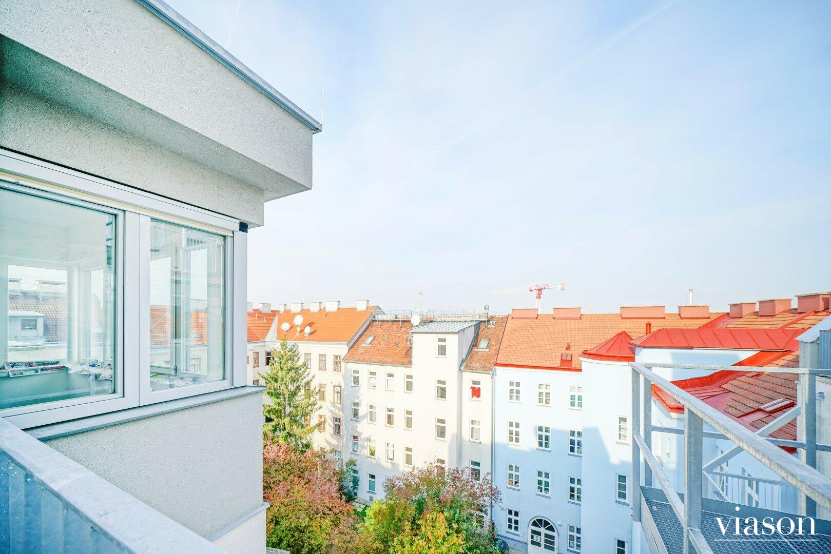 Blick Zugang zur Wohnung