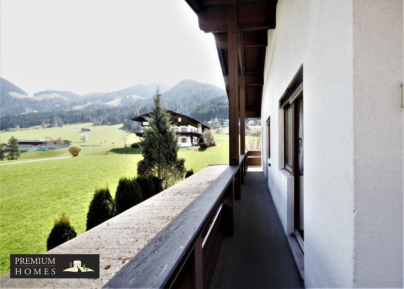 Itter - Eigentumswohnung - Balkonfläche Richtung Südosten