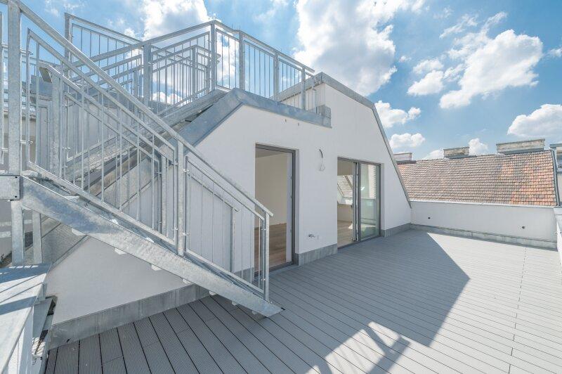 ++NEU++ Hochwertiger 3-Zimmer DG-Erstbezug, tolle Aufteilung! riesige Dachterrasse, toller Ausblick!! ***Videobesichtigung*** /  / 1200Wien / Bild 3