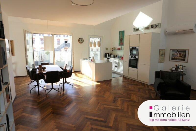 Außergewöhnliche DG-Wohnung mit Terrasse auf Wohnebene - Garagenplatz Objekt_34973 Bild_47