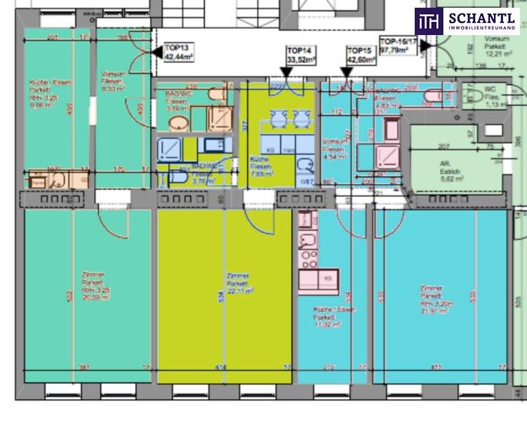 KURZZEITVERMIETUNG!!! Fünf voll möblierte Wohnungen im Paket + Sanierter Altbau + Absolute top Lage! /  / 1140Wien / Bild 9