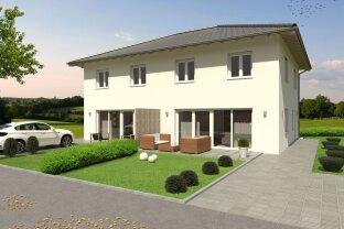 Moderne Doppelhäuser in Massivbauweise in Stadl Paura!