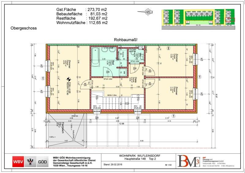 Direkt vom Bauträger- 10 neu errichtete DH-Hälften mit Garten, gelegen in Wilfleinsdorf bei Wien /  / 2462Wilfleinsdorf / Bild 0