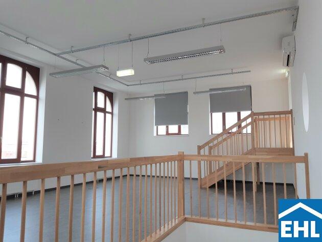 Loftbüro in der Heller Zuckerlfabrik mit eigener Dachterrasse !!