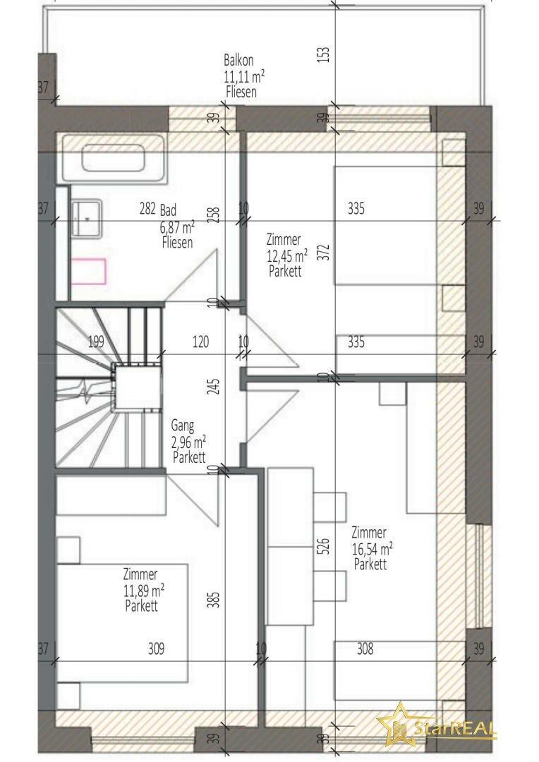 HAUS 3 Obergeschoss