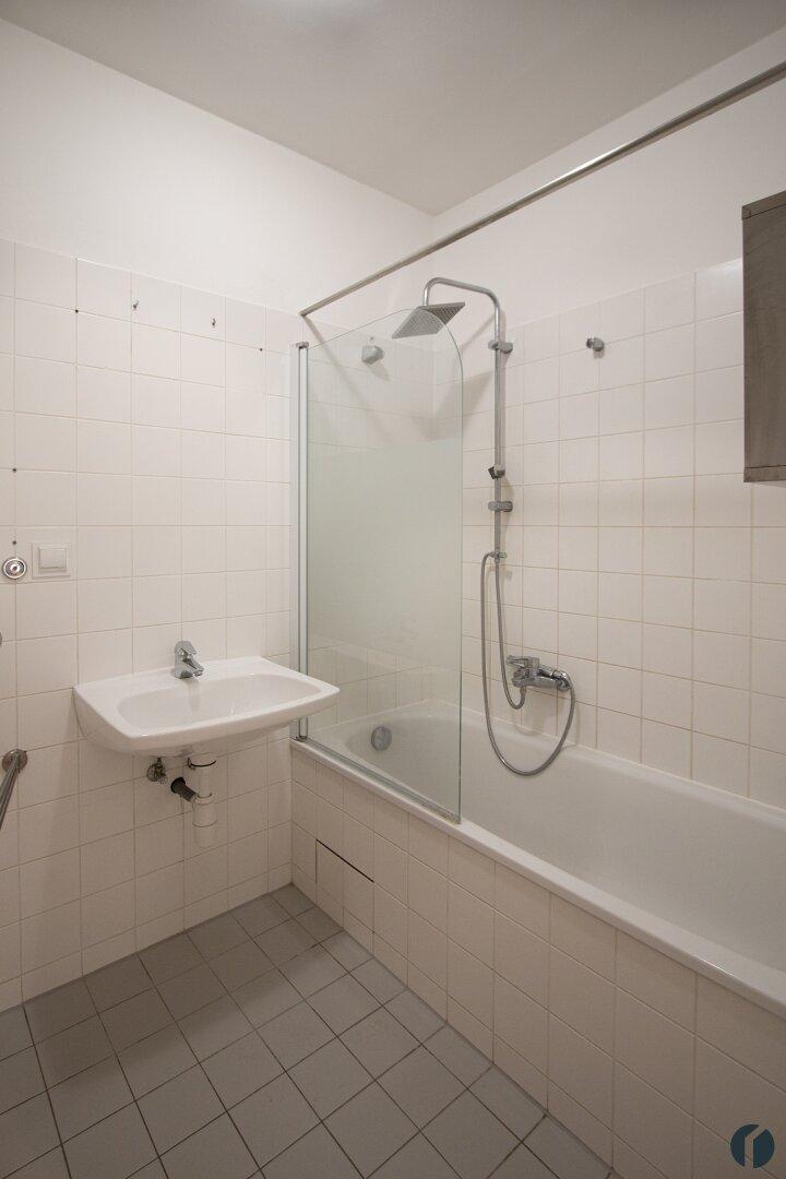 Badezimmer in der oberen Etage