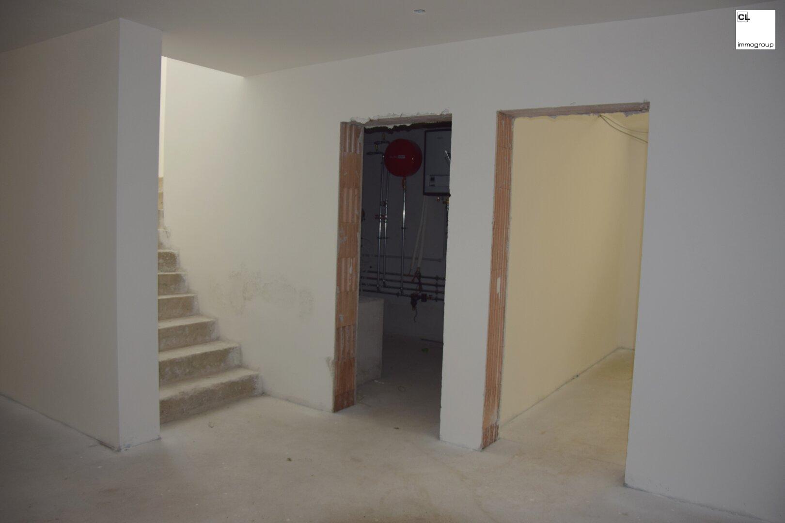 Keller - Technikraum und Zimmer