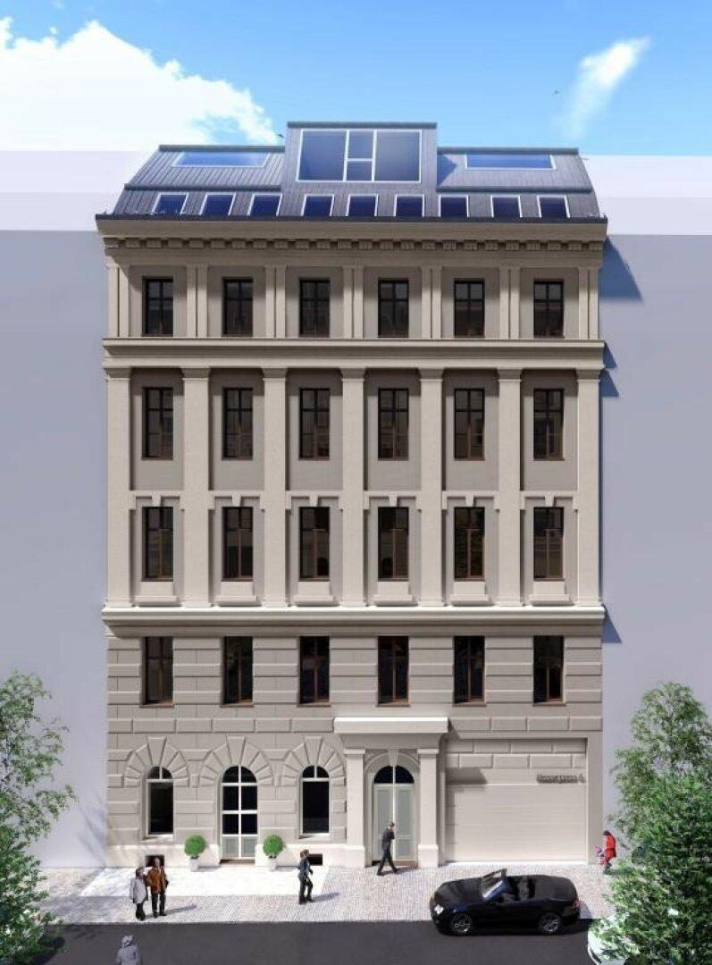 Visualisierung Fassade