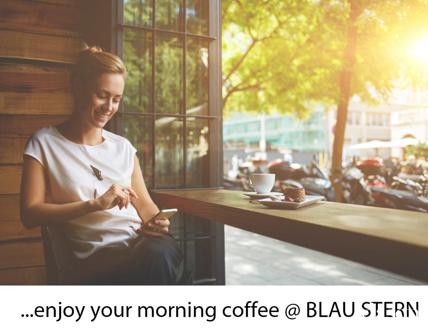 Dein Morgenkaffee im MORGEN STERN
